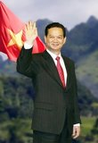 Nguyễn Tấn Dũng (born November 17, 1949 in Ca Mau province, southern Vietnam) was the Prime Minister of Vietnam from 2006 to 2016. He was confirmed by the National Assembly on June 27, 2006, having been nominated by his predecessor, Phan Van Khai, who retired from office.<br/><br/>  Dung was ranked fourth in the hierarchy of the Communist Party of Vietnam, under the Party General Secretary, President and the Minister of Defense.