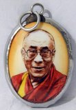 The 14th Dalai Lama (Religious name: Tenzin Gyatso, shortened from Jetsun Jamphel Ngawang Lobsang Yeshe Tenzin Gyatso, born Lhamo Dondrub, 6 July 1935) is the 14th and current Dalai Lama. Dalai Lamas are the most influential figure in the Gelugpa lineage of Tibetan Buddhism, although the 14th has consolidated control over the other lineages in recent years.<br/><br/>   He won the Nobel Peace Prize in 1989, and is also well known for his lifelong advocacy for Tibetans inside and outside Tibet. Tibetans traditionally believe him to be the reincarnation of his predecessors and a manifestation of the Buddha of Compassion. The Dalai Lama was born in Taktser, Qinghai and was selected as the rebirth of the 13th Dalai Lama two years later, although he was only formally recognized as the 14th on 17 November 1950, at the age of 15.<br/><br/>  He inherited control over a government controlling an area roughly corresponding to the Tibet Autonomous Region just as the nascent People's Republic of China wished to reassert central control over it. During the 1959 Tibetan uprising, which China regards as an uprising of feudal landlords, the Dalai Lama who regards the uprising as an expression of widespread discontent, fled to India, where he denounced the People's Republic and established a government in exile.<br/><br/>  A charismatic speaker, he has since traveled the world, advocating for the welfare of Tibetans, teaching Tibetan Buddhism and talking about the importance of compassion for a happy life.