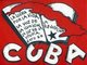 Cuba: Revolutionary poster supporting the aims and ideals of the Cuban Revolution (1959 - )